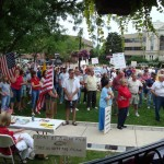 2009 Tea Party Rally Loranger Square Monroe