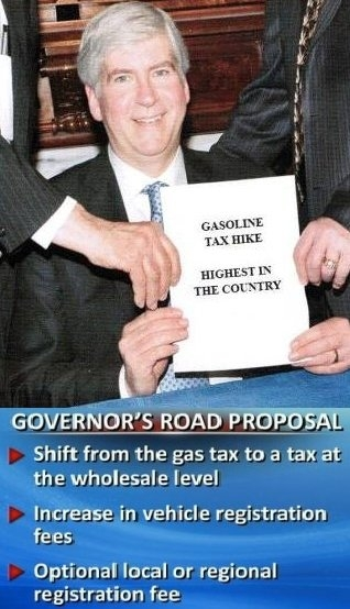 Gas Tax Hike Snyder
