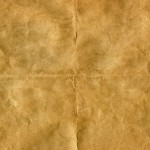 Wrinkled Parchment Paper