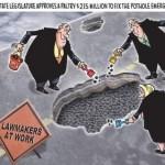 Lawmakers at Work Pothole Money