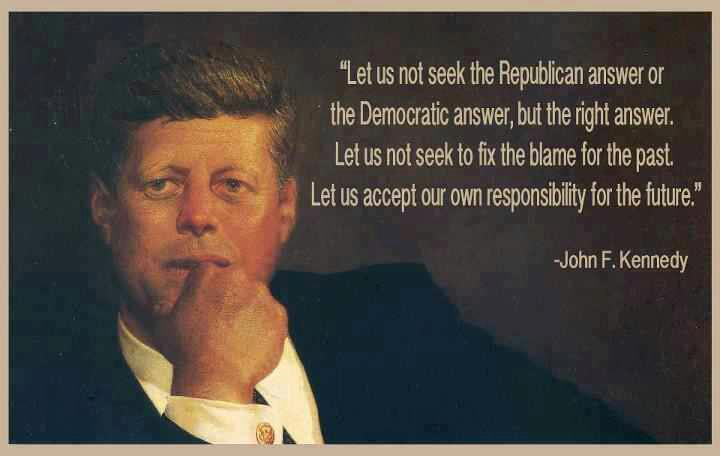1 John F Kennedy Discrediting Liberal Values