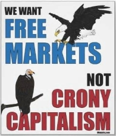 Capital Cronyism Free Markets