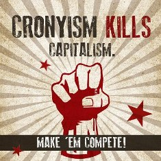 Capital Cronyism Kills
