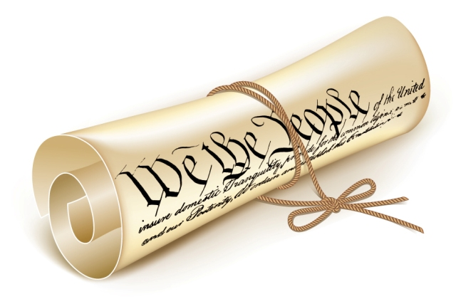A Constitution Scroll We the People 640 X 420