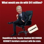 $41 million for Snyder's Cousin George