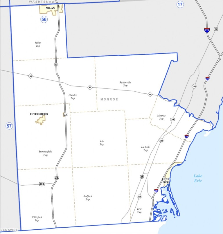 District 56th Map