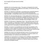 2015 Resolution Opposing Common Core ~ USTPM
