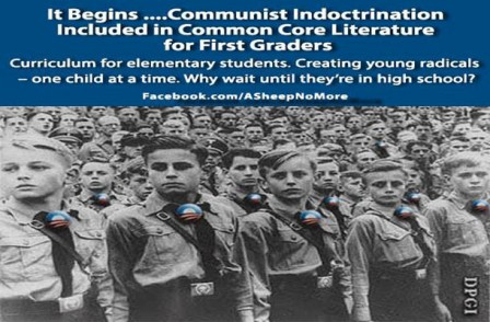 Common Core Indoctrination Begins