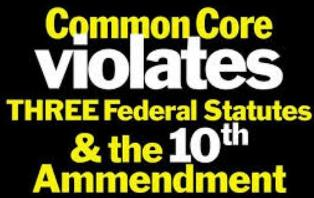 Common Core Violates Constitution