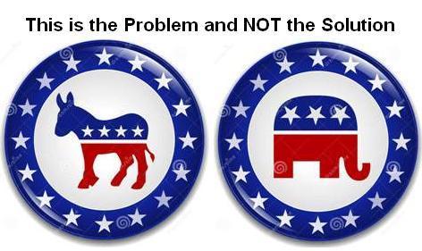 Democrat Republican Logos Problem