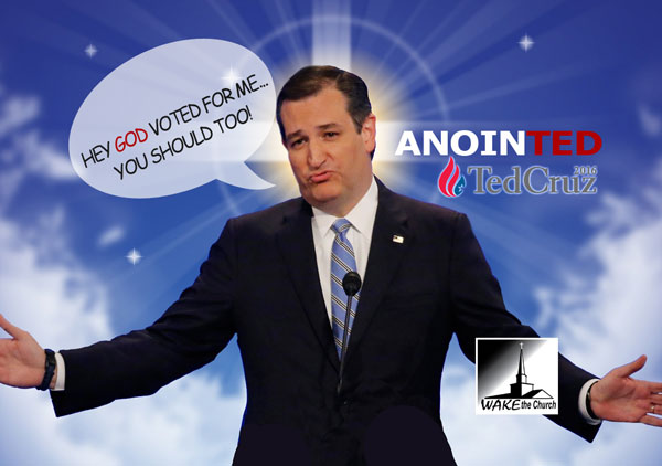 Cruz Represents a Religious Cult